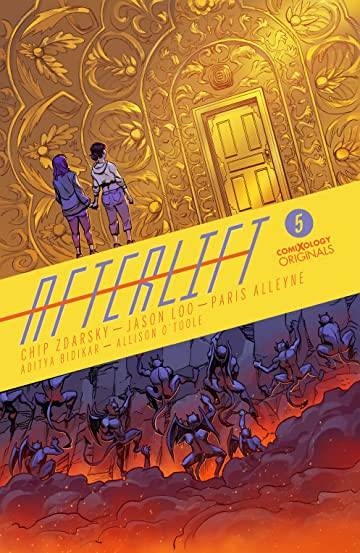 AFTERLIFT (comiXology Originals) #5 (of 5)