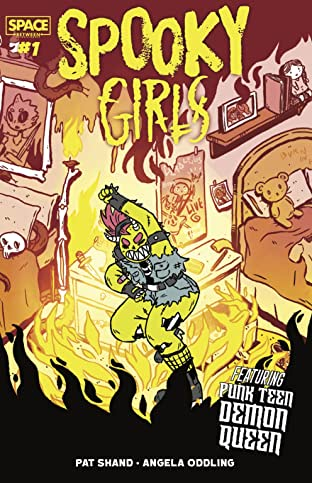 Spooky Girls: Punk Teen Demon Queen #1
