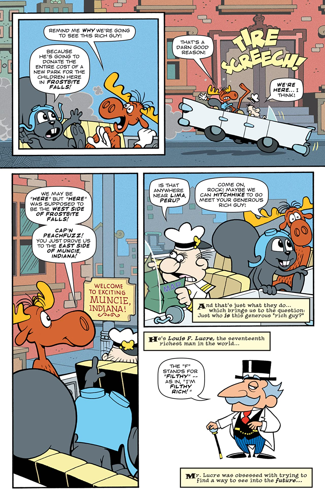 Rocky & Bullwinkle #1 (of 4)