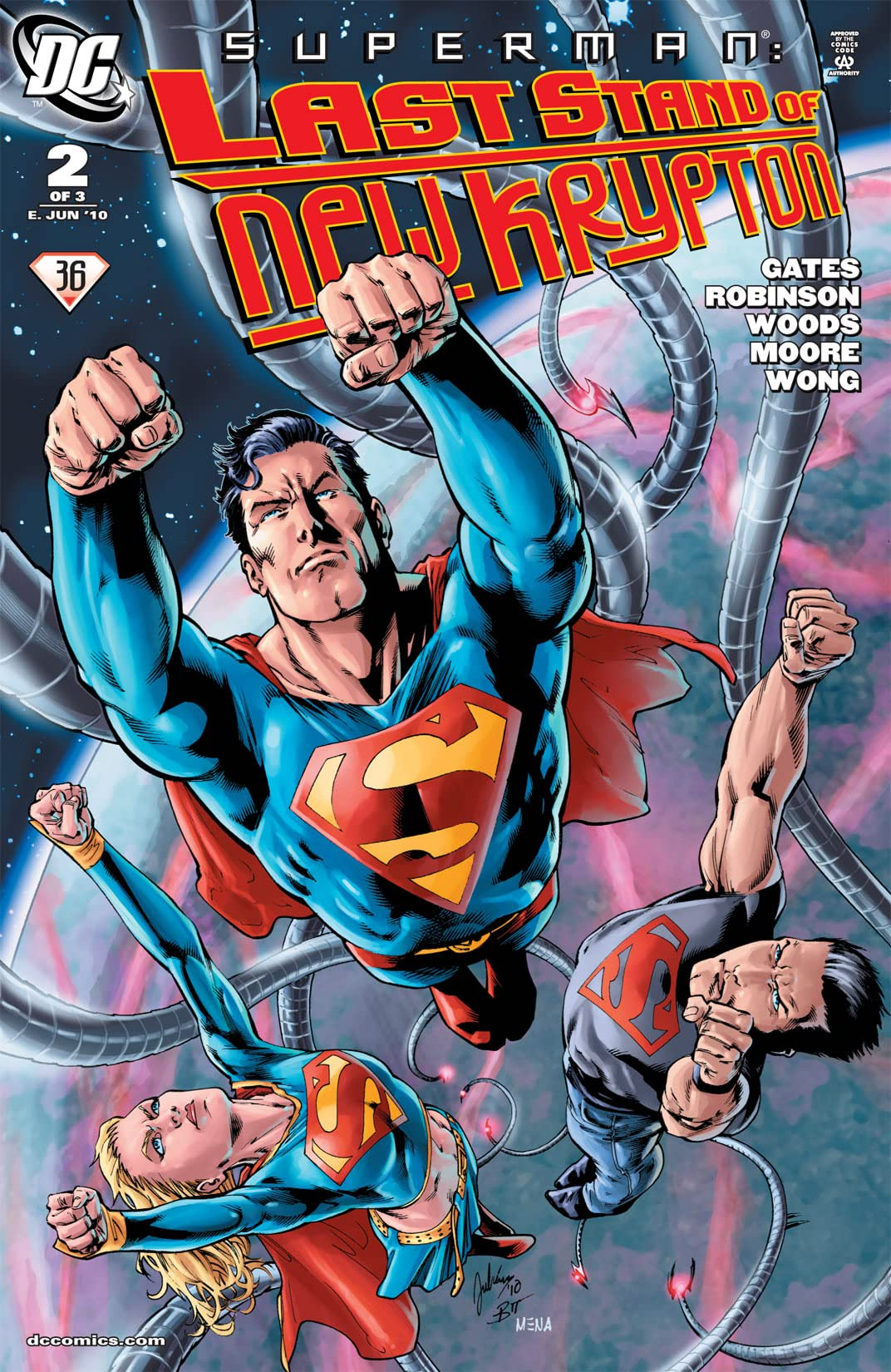 Superman: Last Stand of New Krypton #2 (of 3)