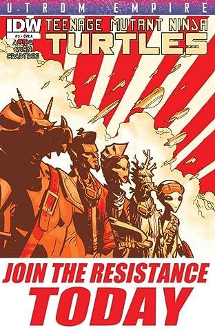 Teenage Mutant Ninja Turtles: Utrom Empire #3 (of 3)