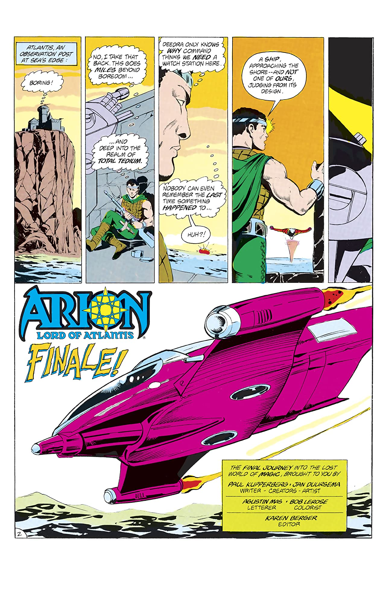 Arion, Lord of Atlantis Special (1984) No.1