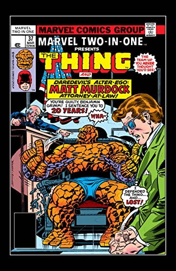 Marvel Two-In-One (1974-1983) #37