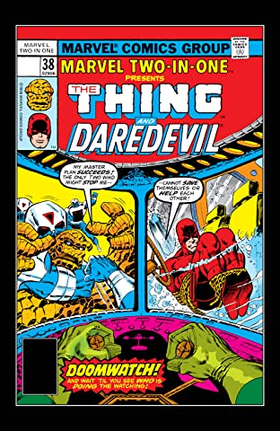Marvel Two-In-One (1974-1983) #38