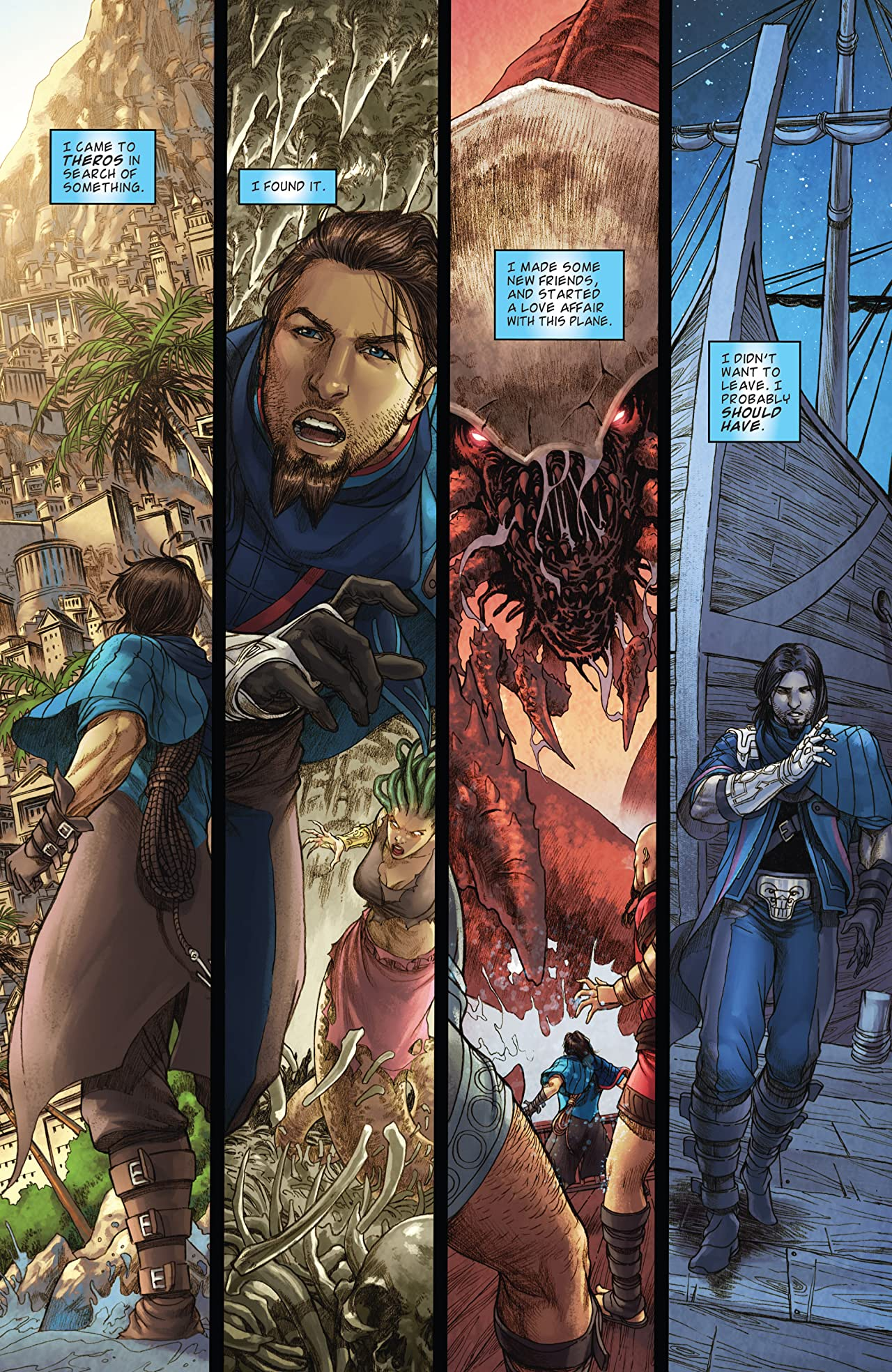 Magic the Gathering: Theros #5 (of 5)