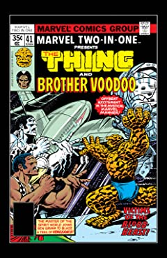 Marvel Two-In-One (1974-1983) #41