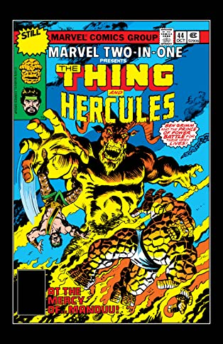 Marvel Two-In-One (1974-1983) #44