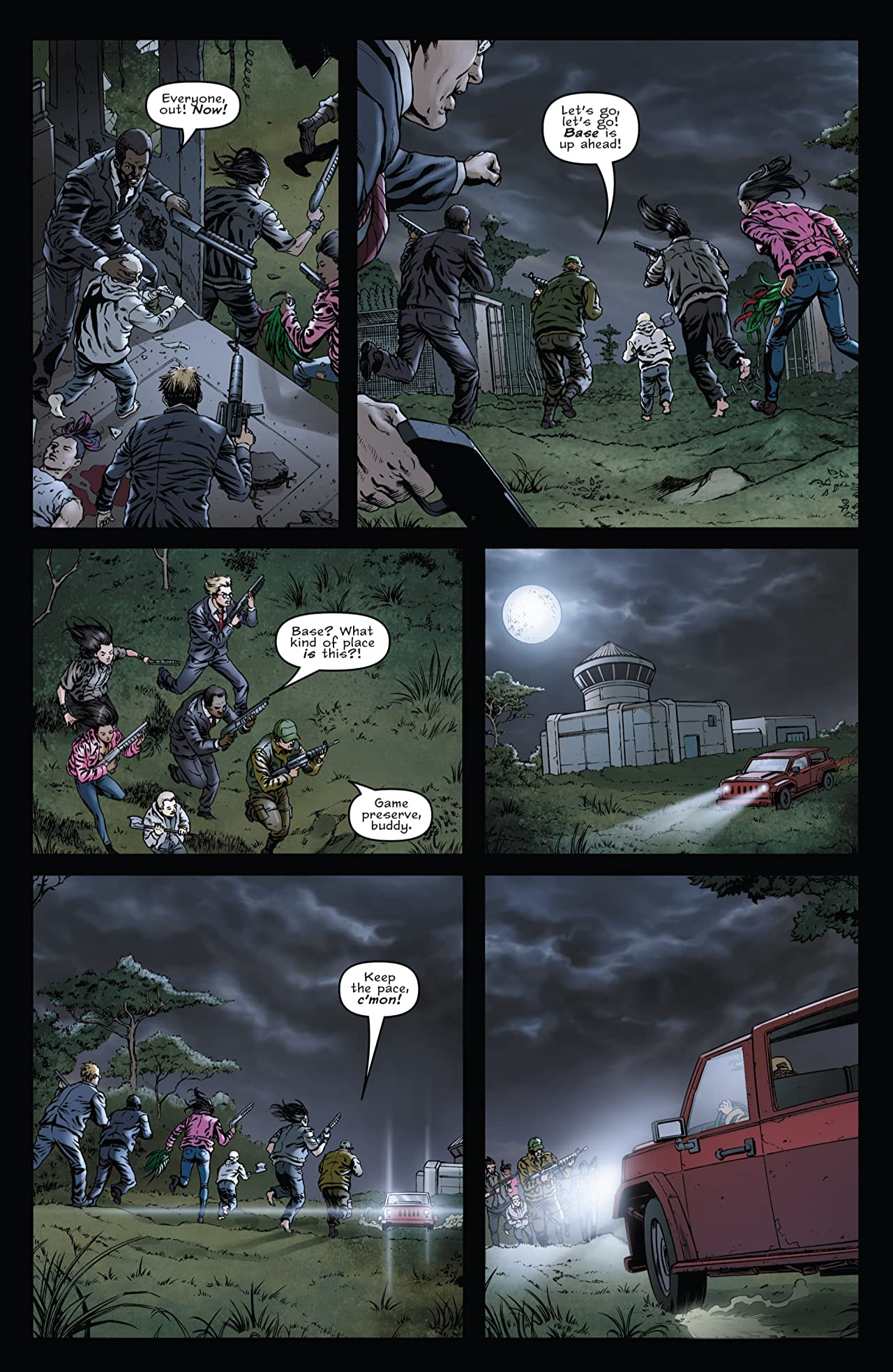 The Other Dead #6 (of 6)