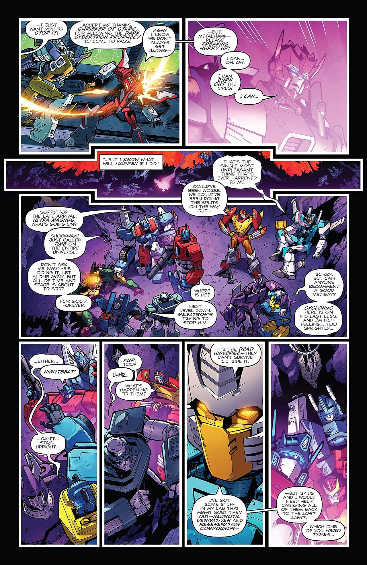 Transformers: Dark Cybertron Finale