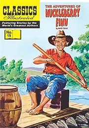 Classics Illustrated #19: Huckleberry Finn