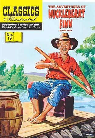 Classics Illustrated No.19: Huckleberry Finn