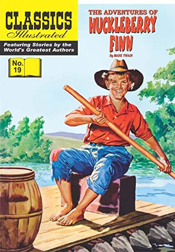 Classics Illustrated #19: Huckleberry Finn
