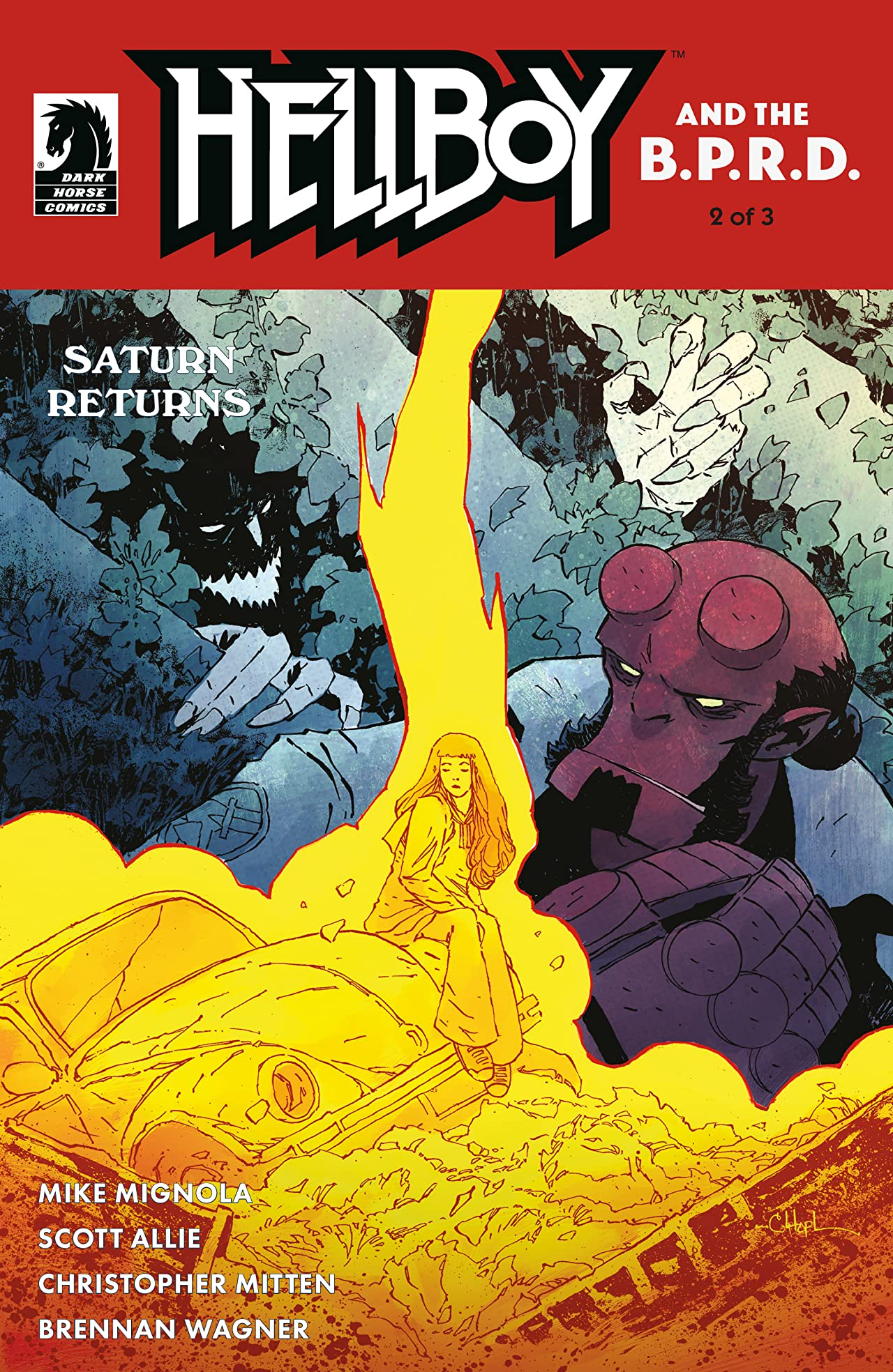 Hellboy and the B.P.R.D.: Saturn Returns No.2
