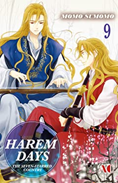 HAREM DAYS THE SEVEN-STARRED COUNTRY Tome 9