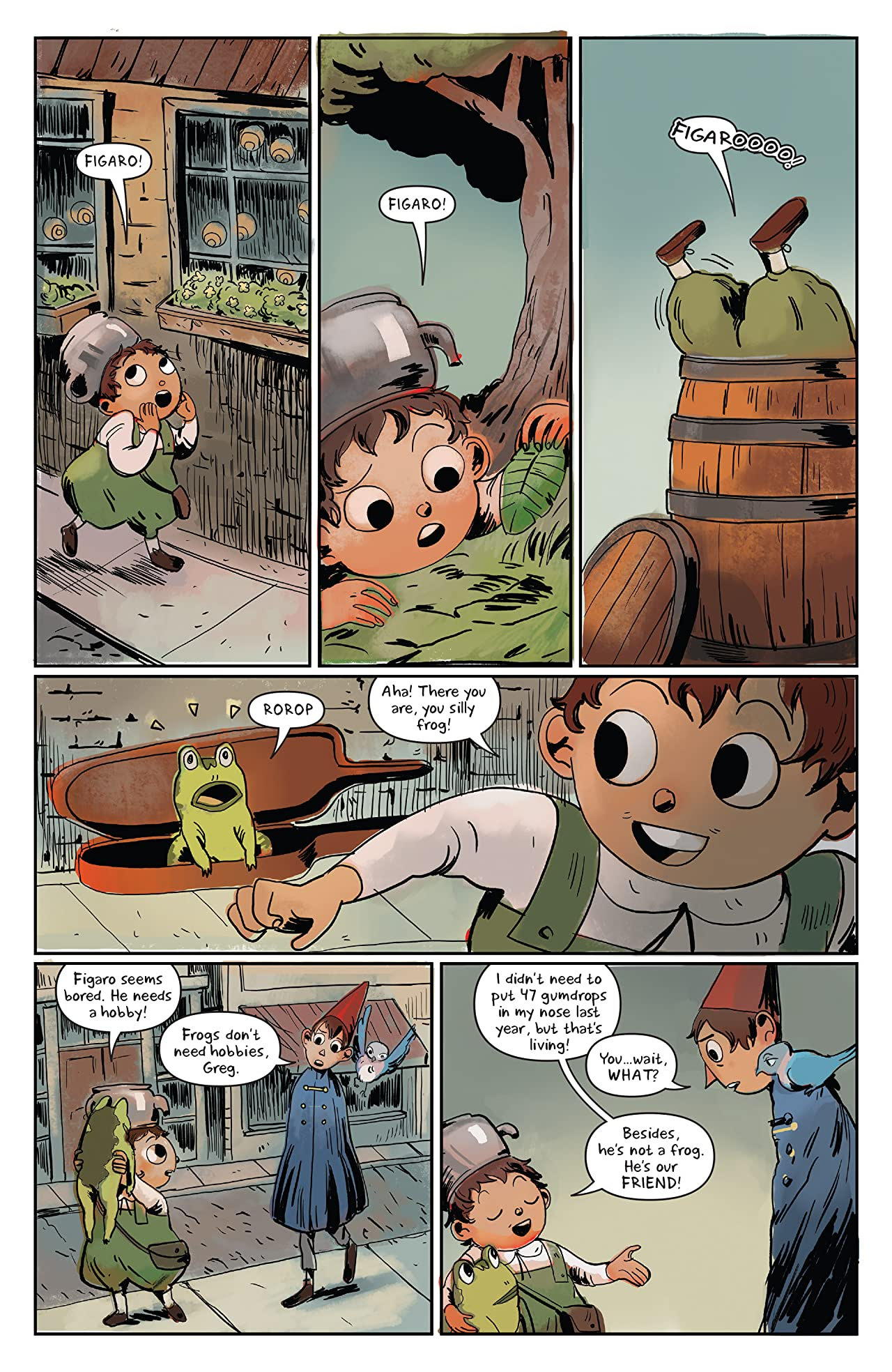 Over the Garden Wall: Soulful Symphonies #1