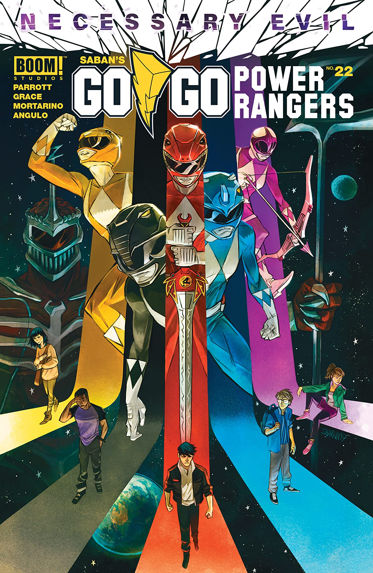 Saban's Go Go Power Rangers No.22