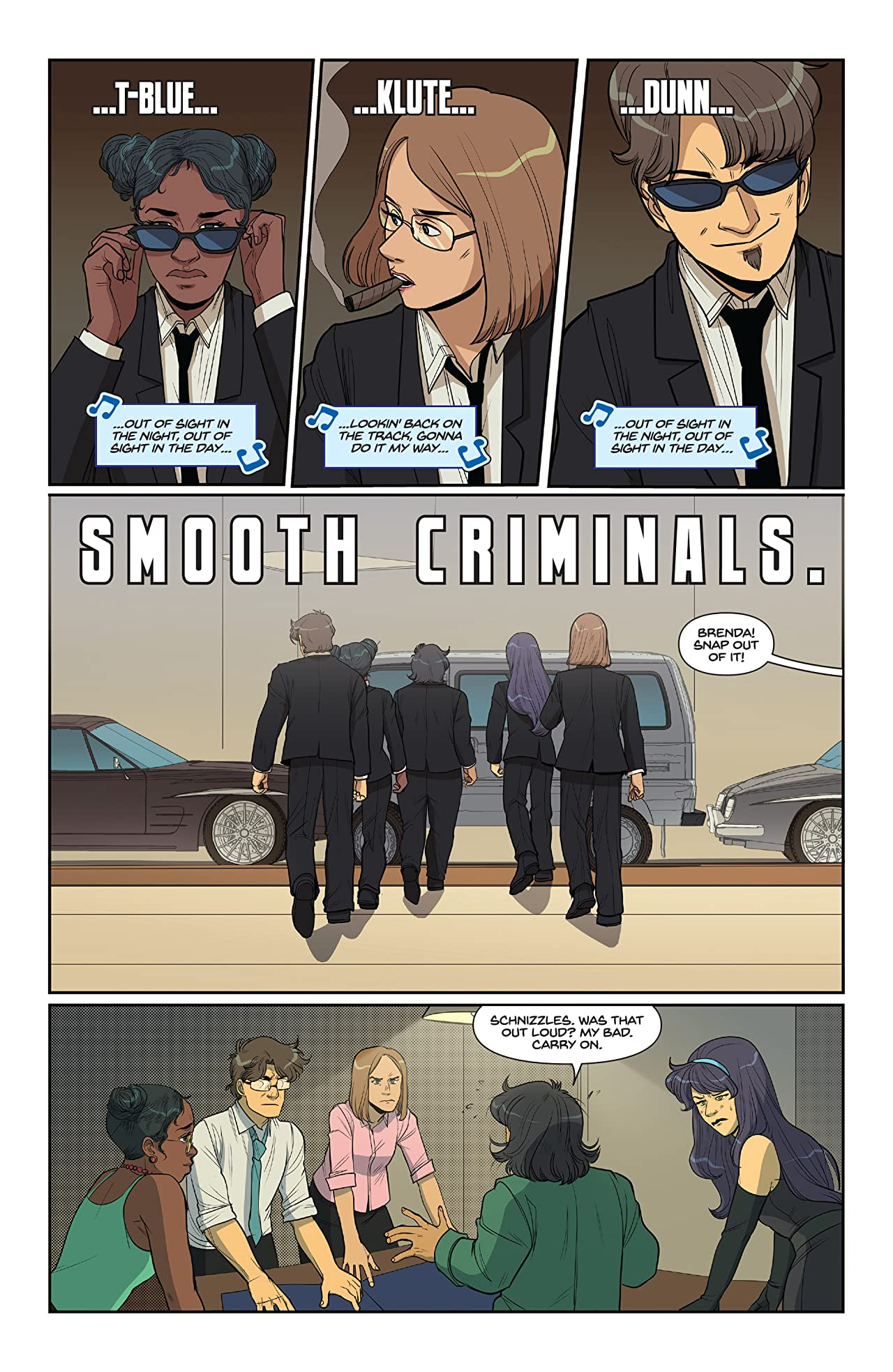 Smooth Criminals #8