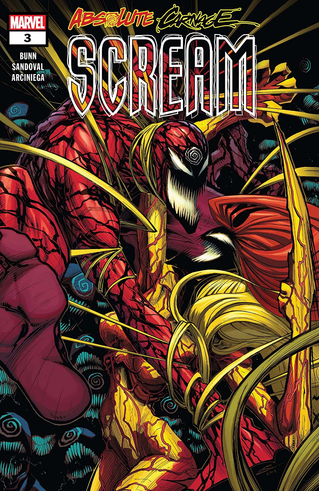 Absolute Carnage: Scream (2019) No.3 (sur 3)