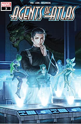 Agents Of Atlas (2019) No.3 (sur 5)