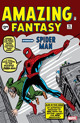 Amazing Fantasy (1962) No.15: Facsimile Edition