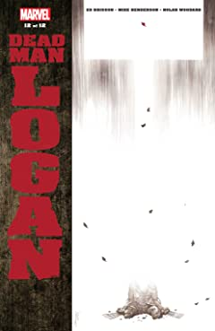 Dead Man Logan (2018-) #12 (of 12)