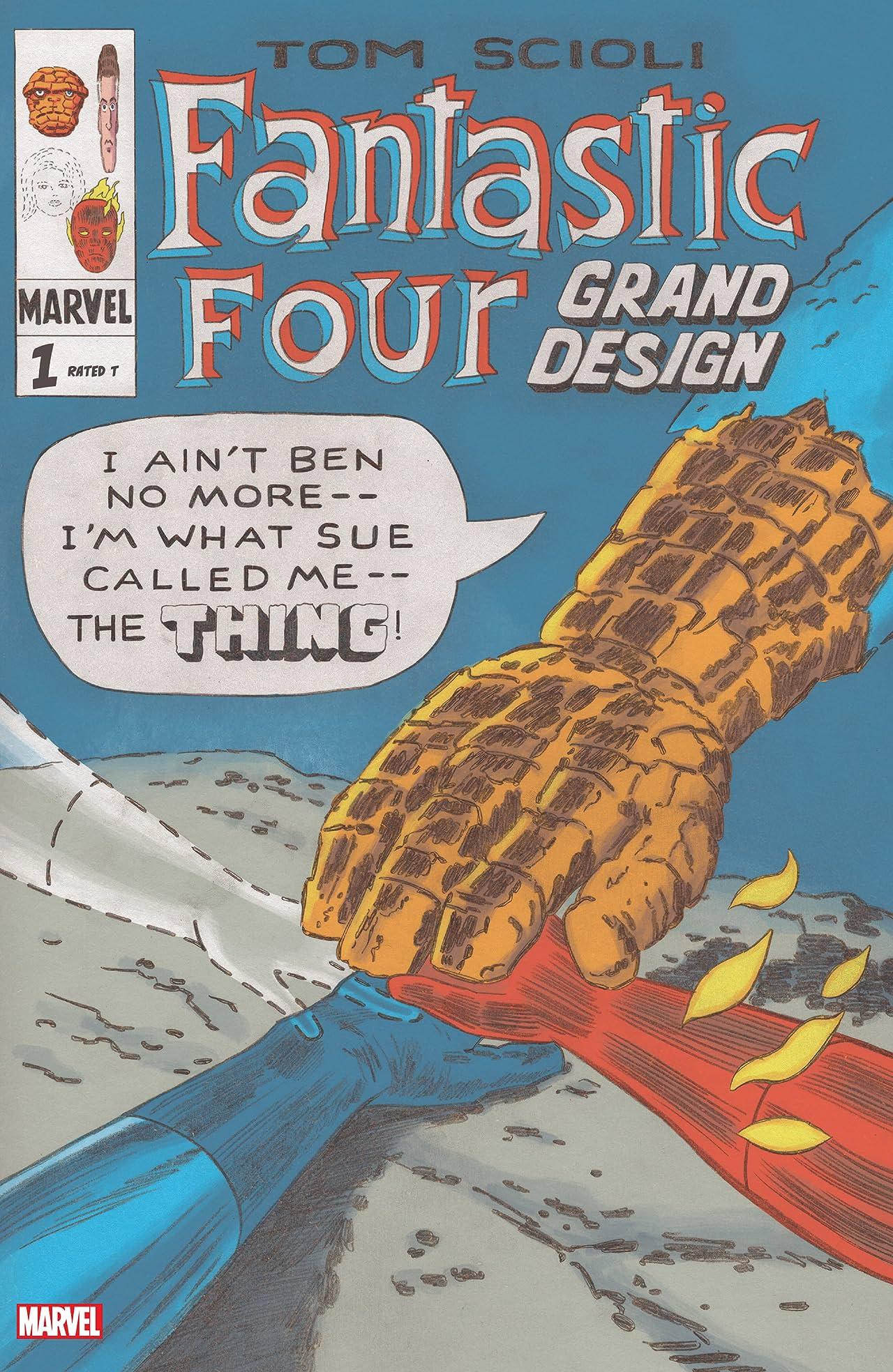 Fantastic Four: Grand Design (2019-) #1 (of 2)