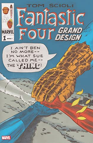 Fantastic Four: Grand Design (2019-) #1 (of 2)