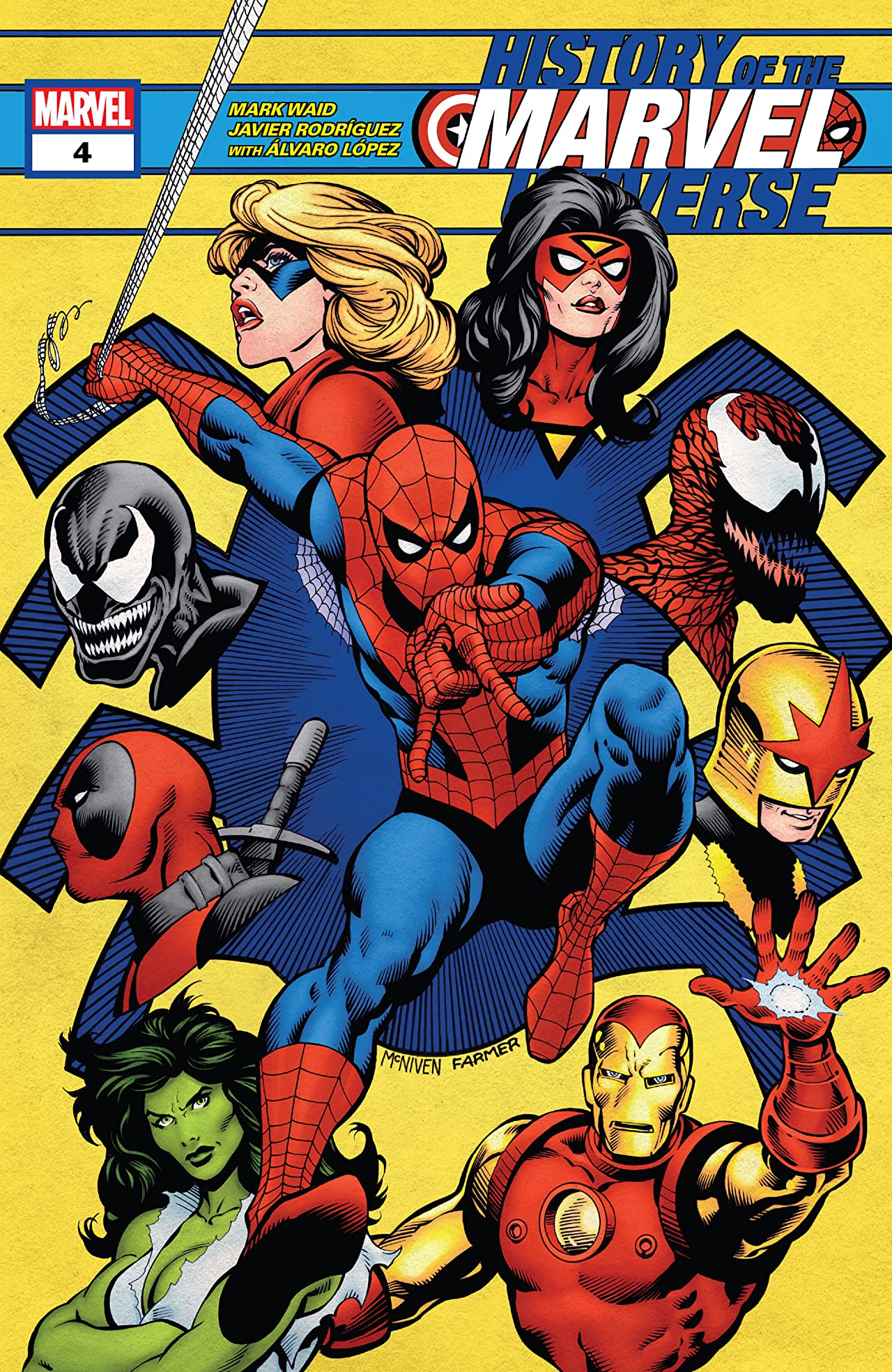 History Of The Marvel Universe (2019-) No.4 (sur 6)