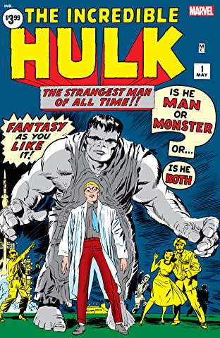 Incredible Hulk (1962-1999) No.1: Facsimile Edition