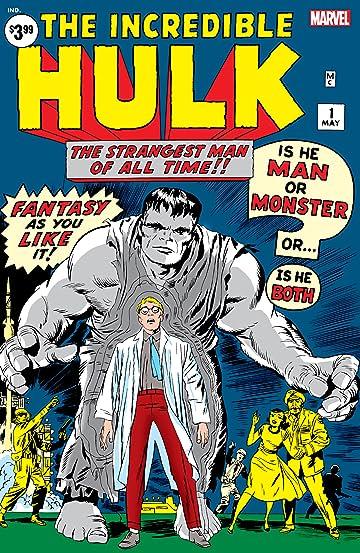 Incredible Hulk (1962-1999) #1: Facsimile Edition