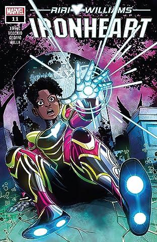Ironheart (2018-2019) #11