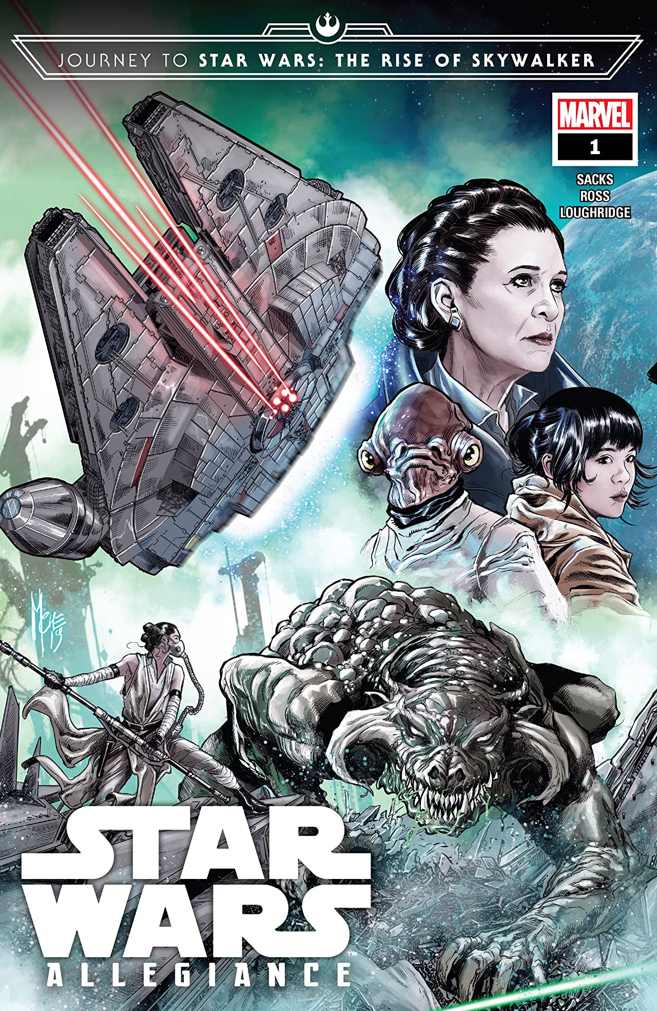 Journey To Star Wars: The Rise Of Skywalker - Allegiance (2019) #1 (of 4)