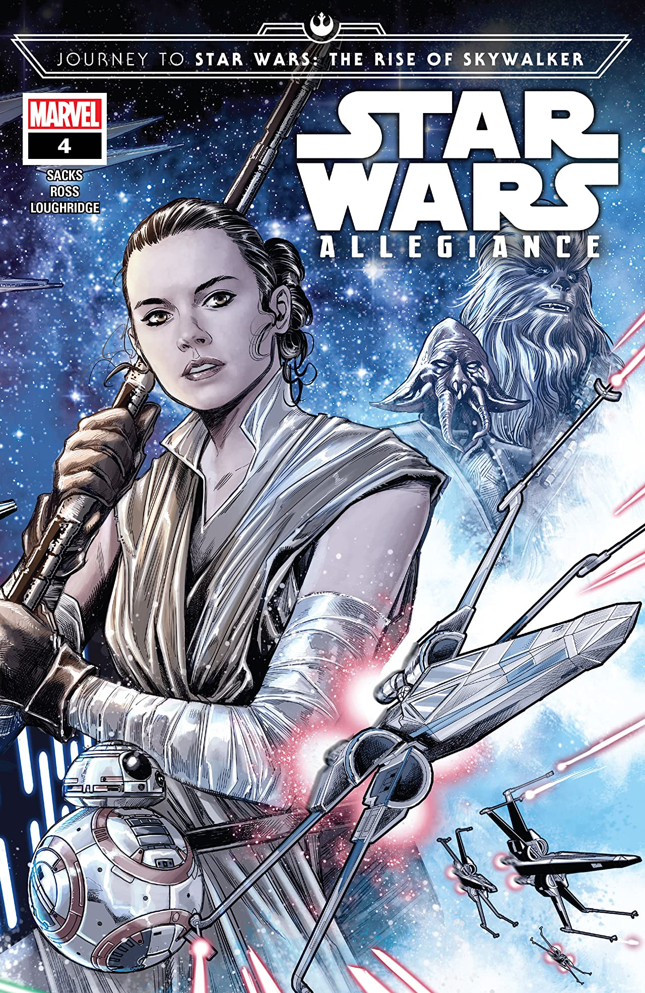 Journey To Star Wars: The Rise Of Skywalker - Allegiance (2019) #4 (of 4)
