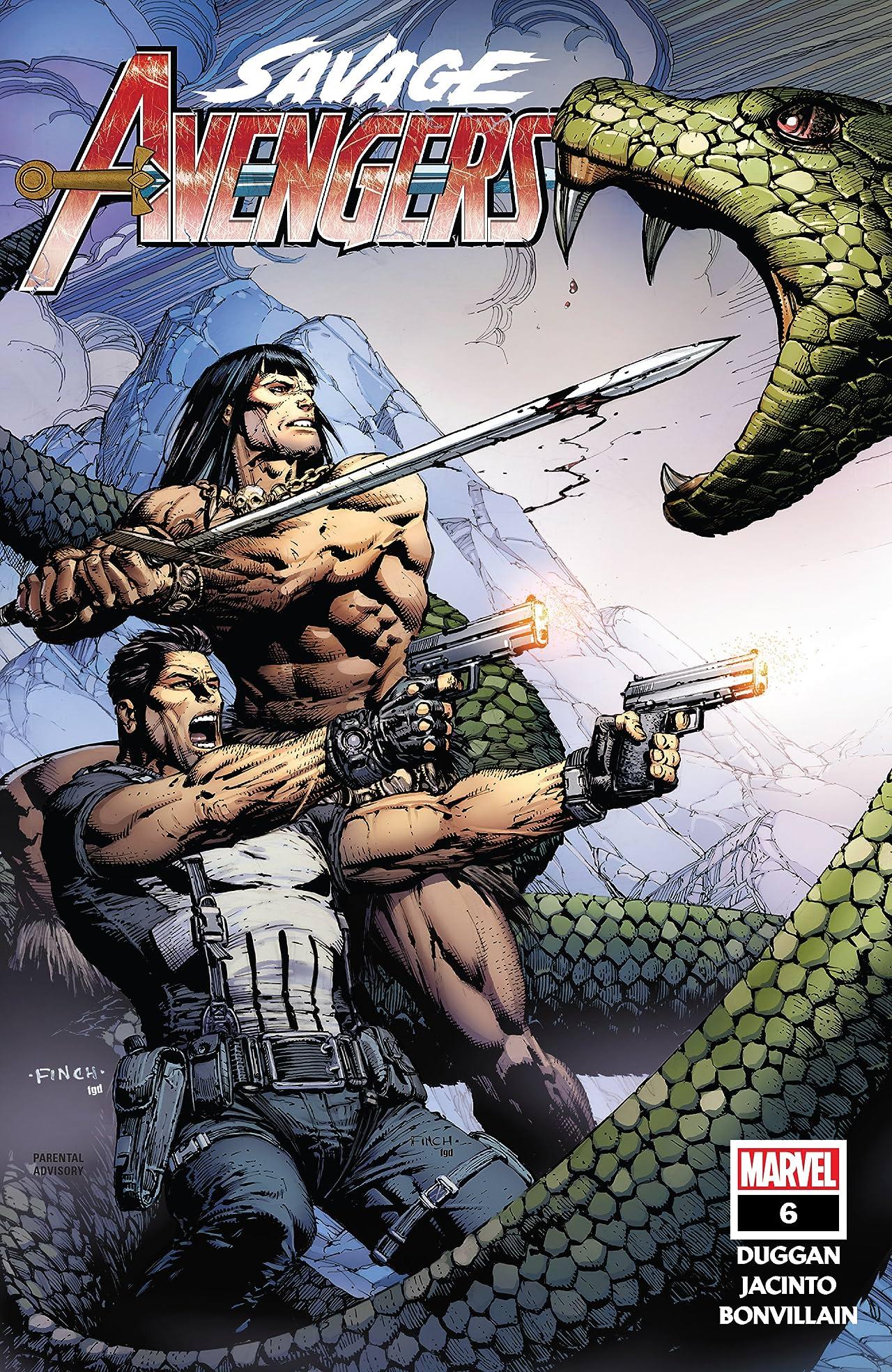Savage Avengers (2019-) No.6