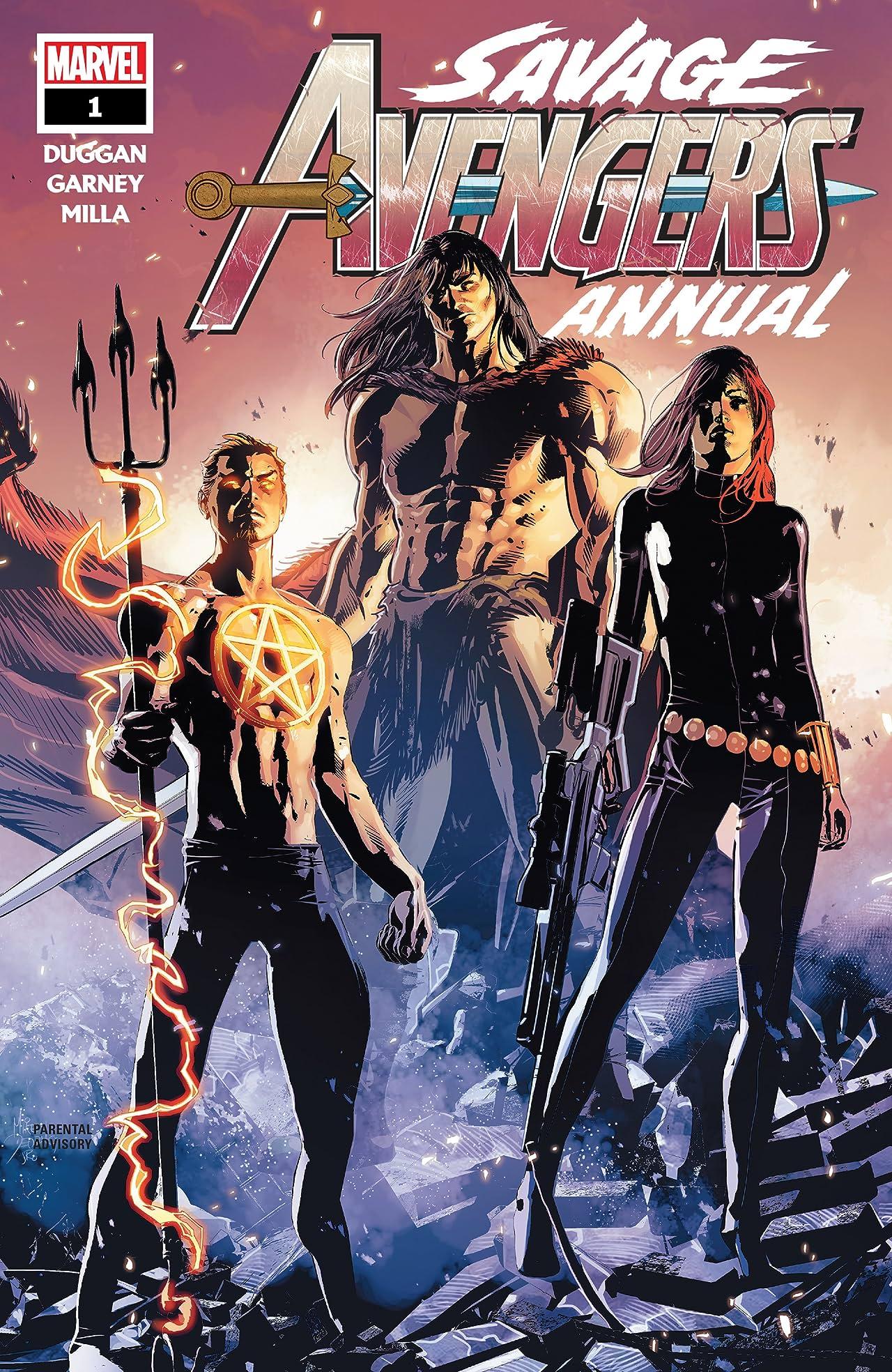 Savage Avengers (2019-) Annual No.1