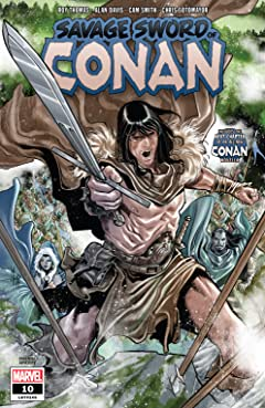 Savage Sword Of Conan (2019-) #10