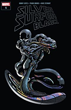 Silver Surfer: Black (2019) #5 (of 5)