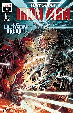 Tony Stark: Iron Man (2018-) #17