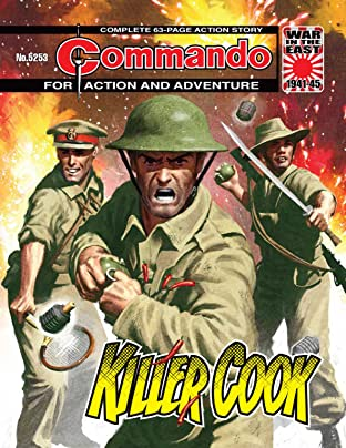 Commando No.5253: Killer Cook