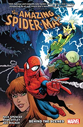 Amazing Spider-Man by Nick Spencer Vol. 5: Behind The Scenes