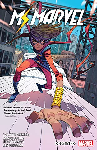 Ms. Marvel by Saladin Ahmed Tome 1: Destined