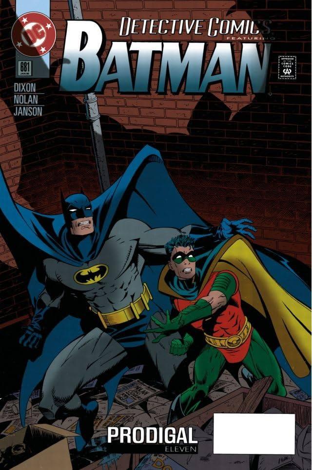 Detective Comics (1937-2011) #681