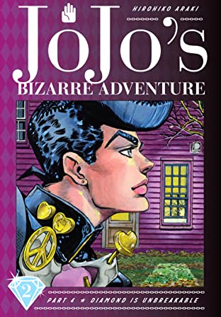 Jojo's Bizarre Adventure: Part 4--Diamond Is Unbreakable Tome 2