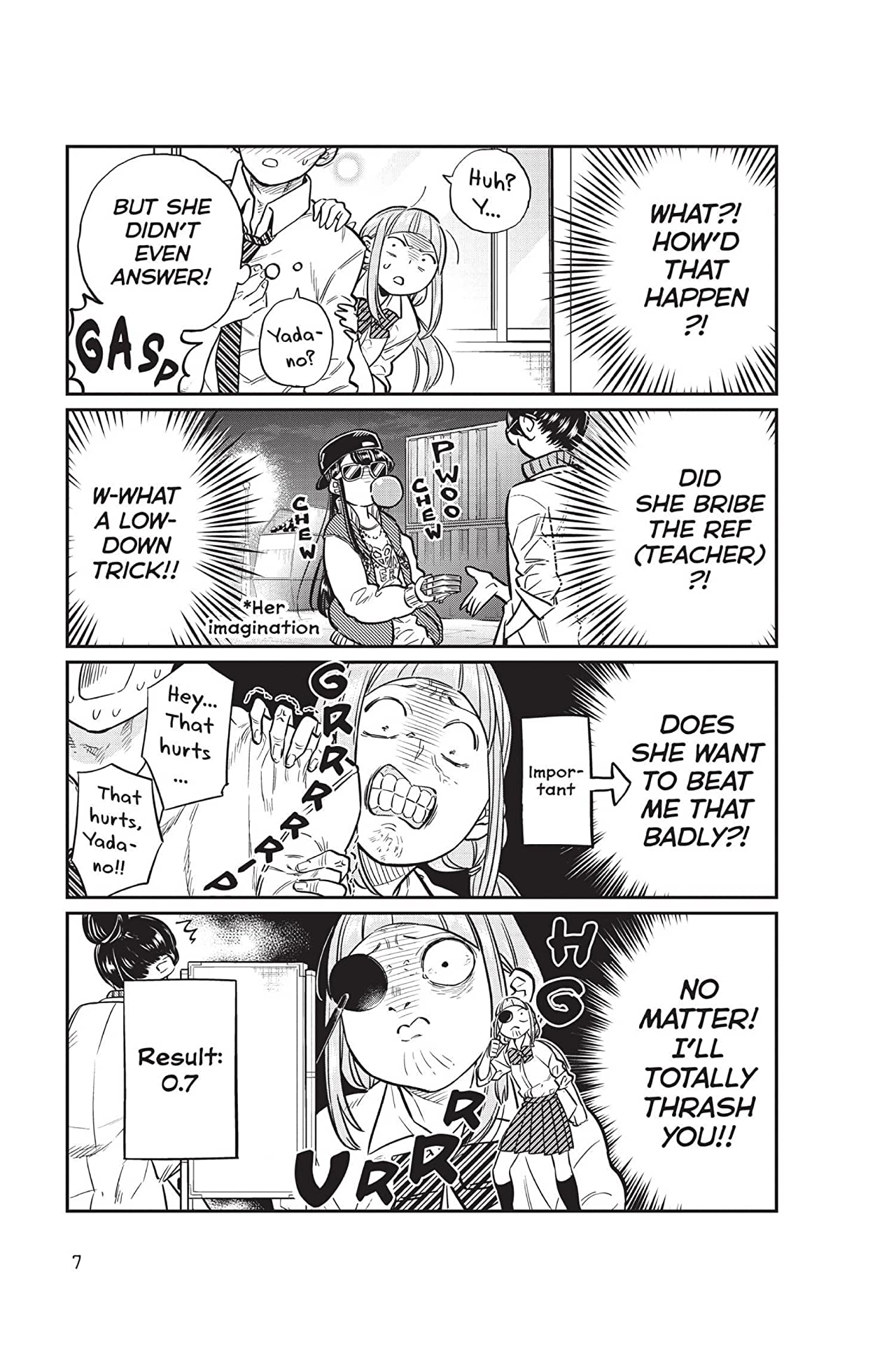 Komi Can't Communicate Tome 2