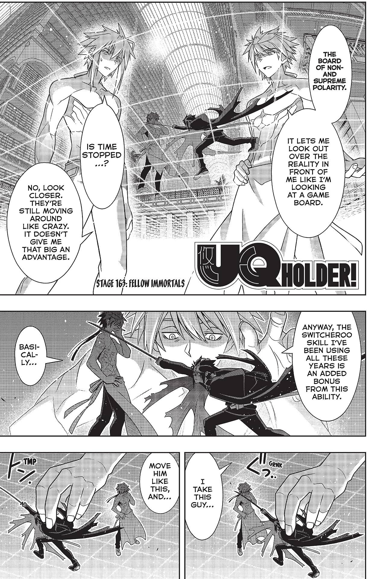 UQ Holder! #163