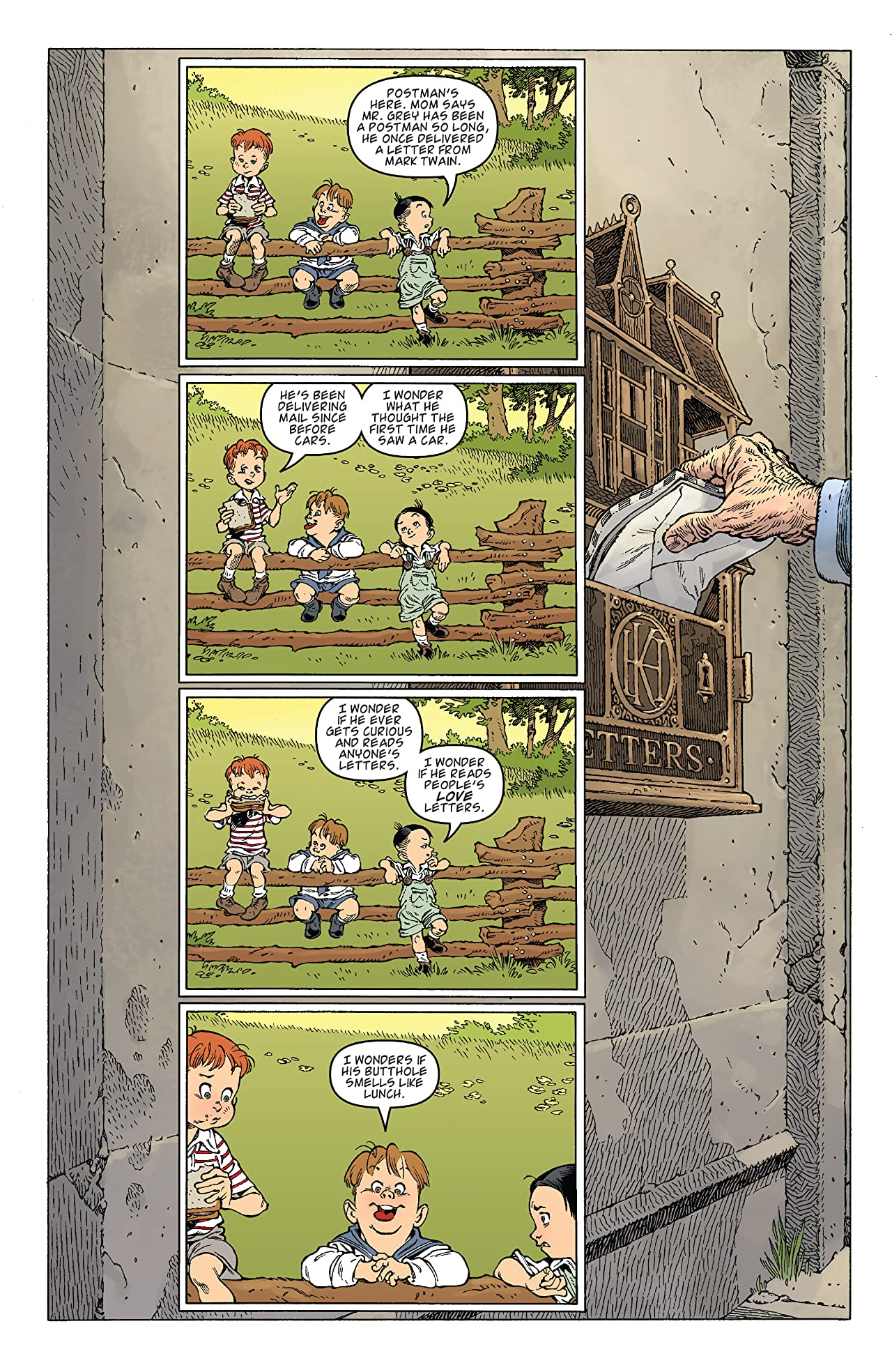 Locke and Key: Dog Days