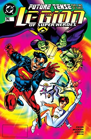 Legion of Super-Heroes (1989-2000) #74