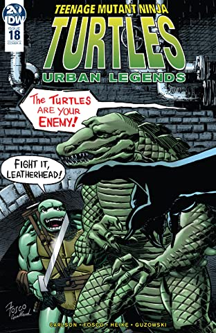 Teenage Mutant Ninja Turtles: Urban Legends #18