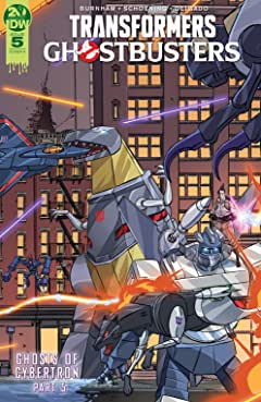 Transformers/Ghostbusters #5