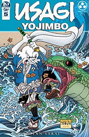 Usagi Yojimbo (2019-) No.5